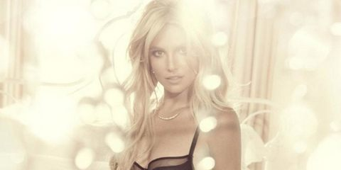 Britney Spears turns lingerie designer