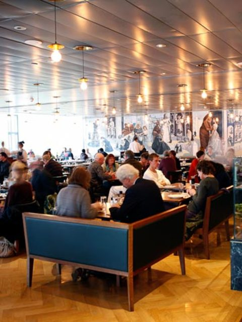 Best art gallery restaurants for National dining rooms