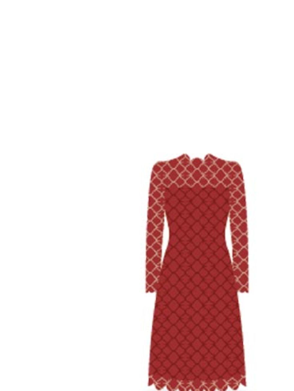 Red dress emoji costume national cologne