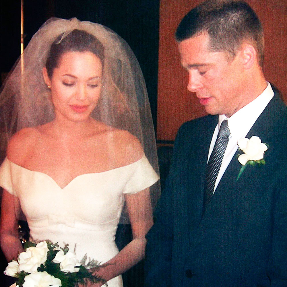 Brad Pitt And Angelina Jolie Wedding Pictures: Angelina Jolie Wedding Dress Predictions