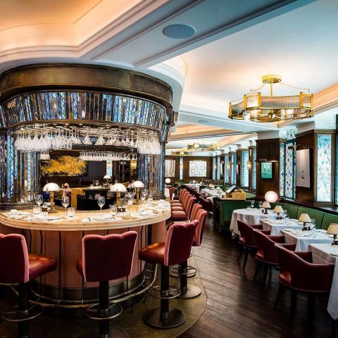 The Ivy  Covent Garden. The Best Private Dining rooms in London