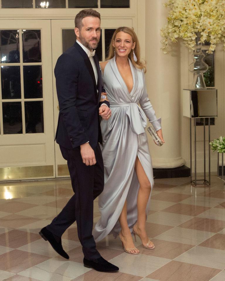 Blake Lively Ryan Reynolds White House
