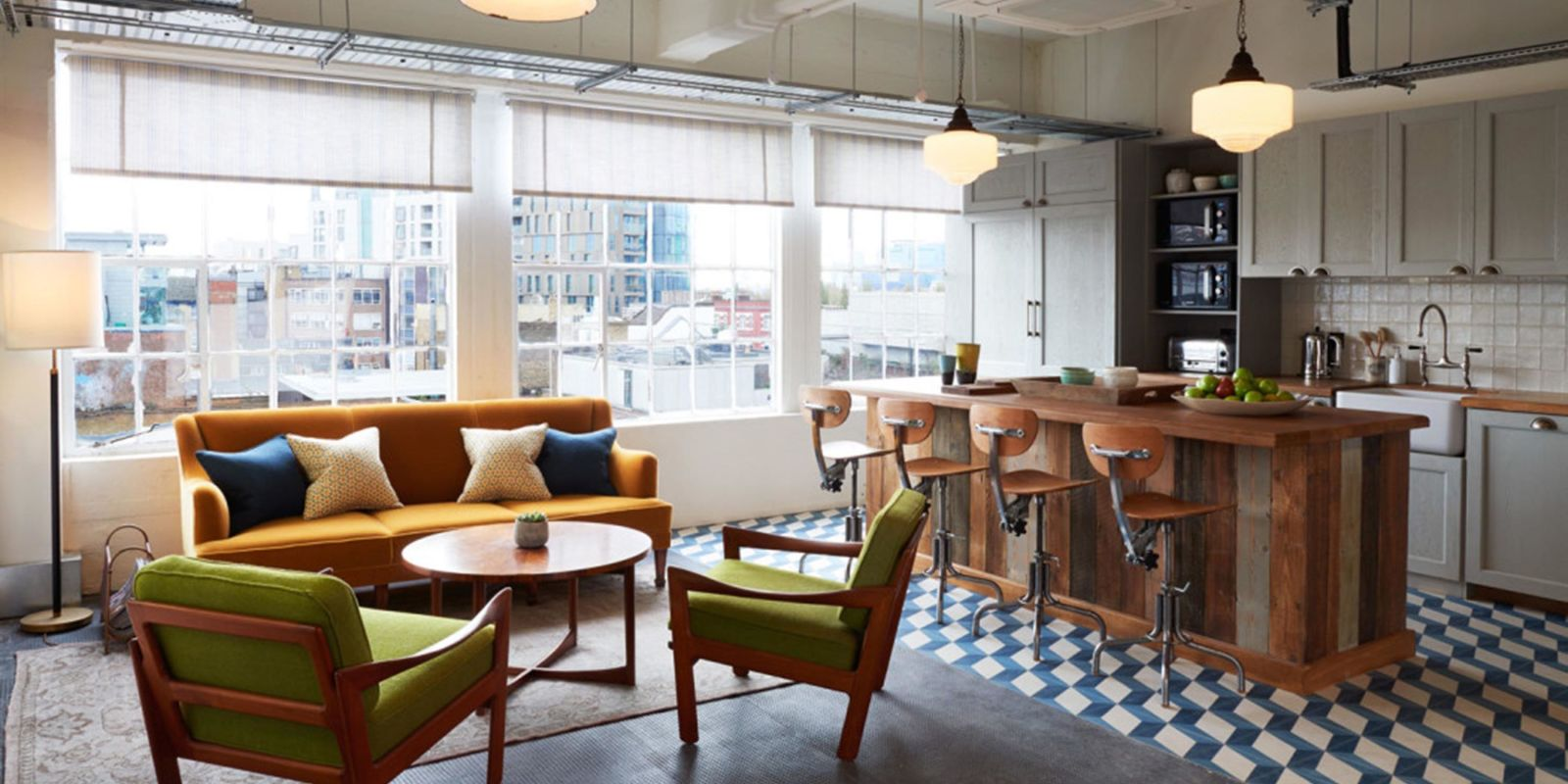 Soho house opens first co working office space soho works for Household design shoreditch