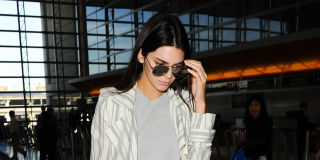 Kendall Jenner at the airport