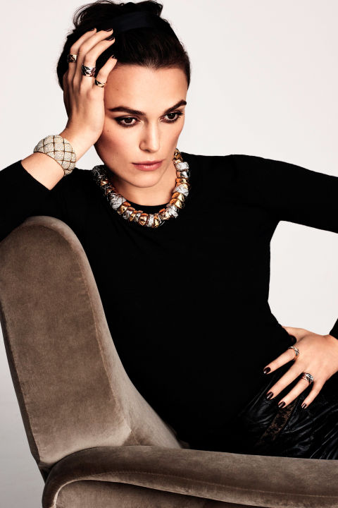 Keira Knightley lands another Chanel campaign
