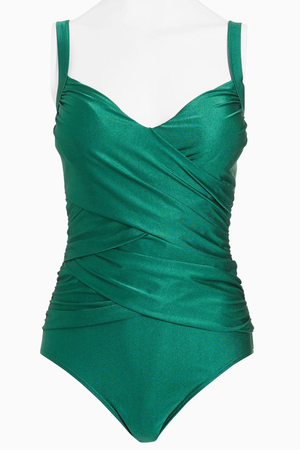 Resultado de imagen de green swimsuit