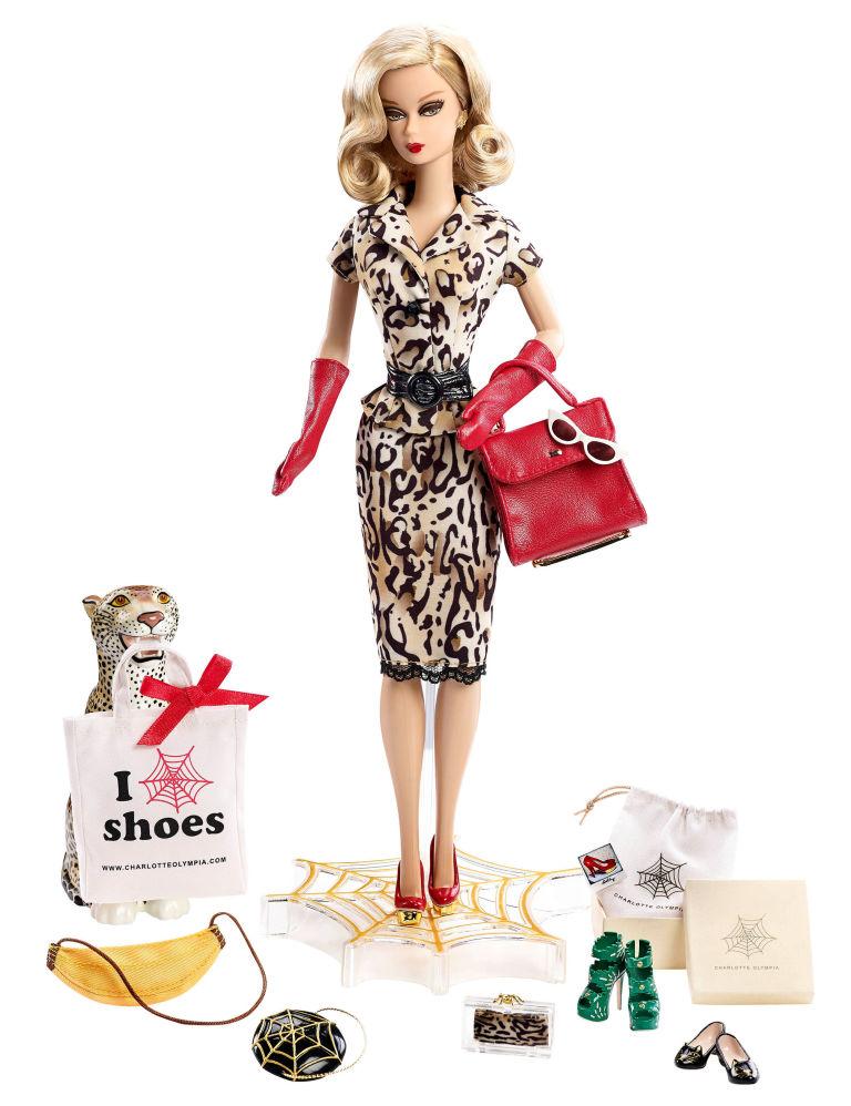 Charlotte Olympia Barbie Doll
