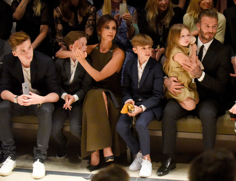 Victoria Beckham on being a working mother