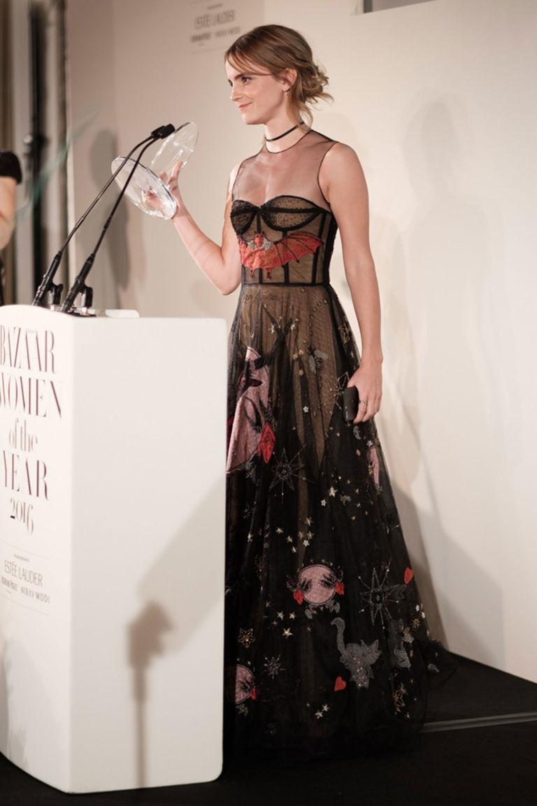 Emma Watson's speech at the Harper's Bazaar Women of the Year Awards 2016