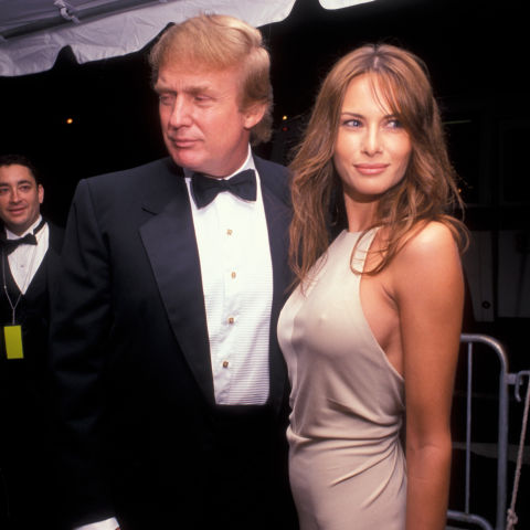 She is a former model. Trump graced the pages of Vanity Fair, GQ ...