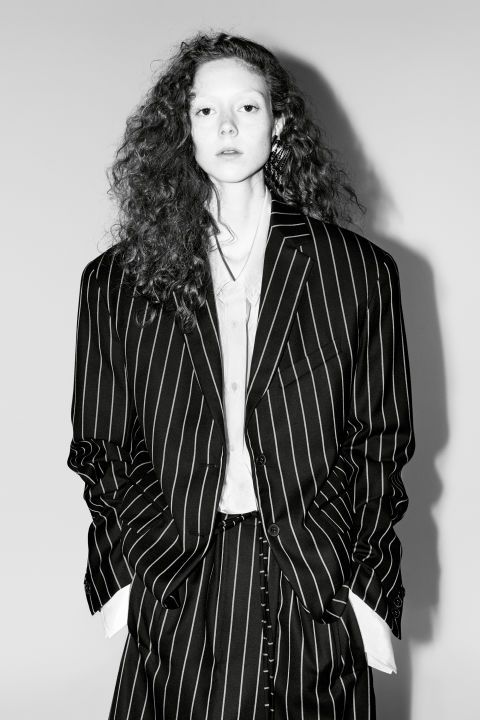 Model: Natalie Westling Photographer: Willy Vanderperre