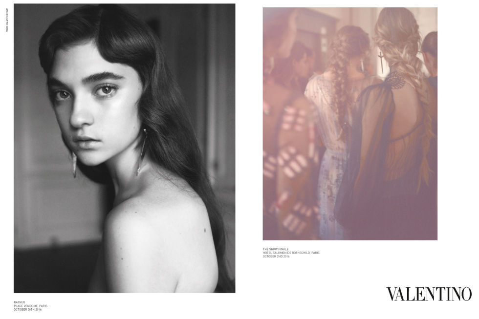 Models:Christy Turlington Burns,Liya,Fei Fei,Mali,Lorena,Ratner,Blesnya Photographer:David Sims