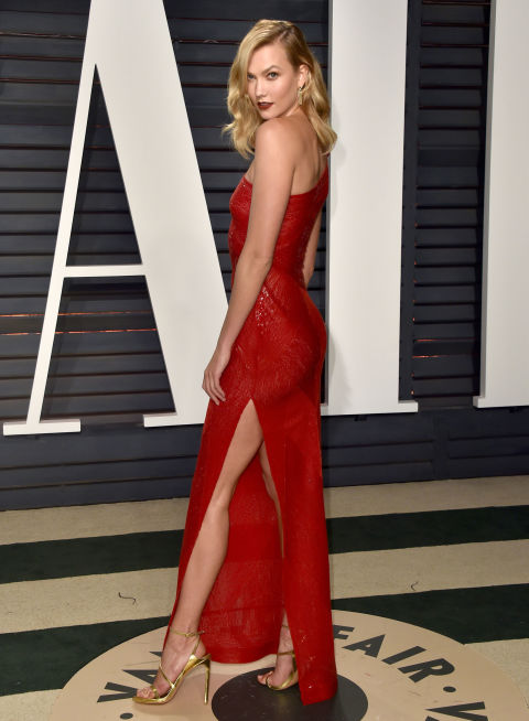Karlie Kloss wearing Naeem Khan
