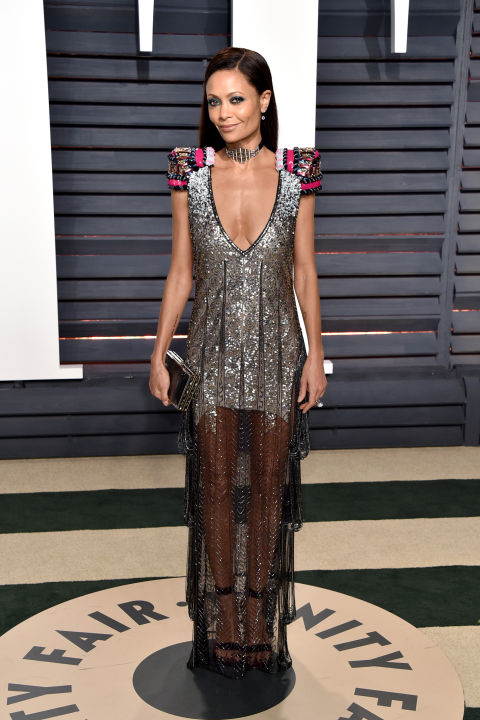 Thandie Newton in Schiaparelli