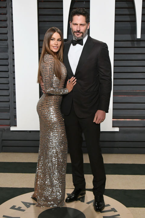 Sofia Vergara in Michael Kors Collection and Joe Manganiello