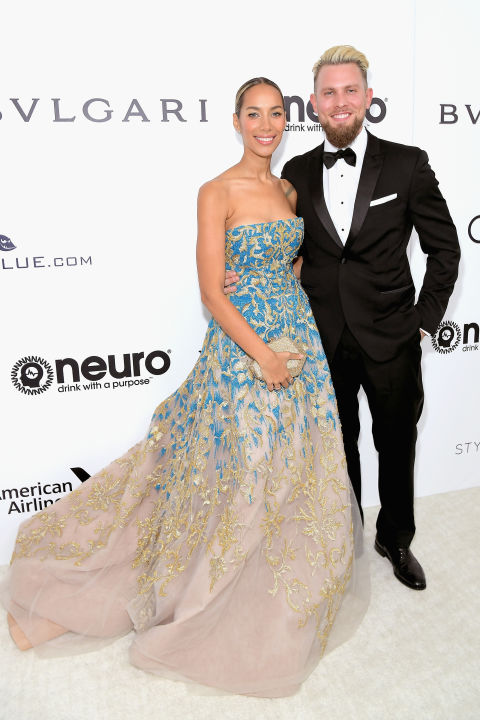 Leona Lewis wearing Tony Ward