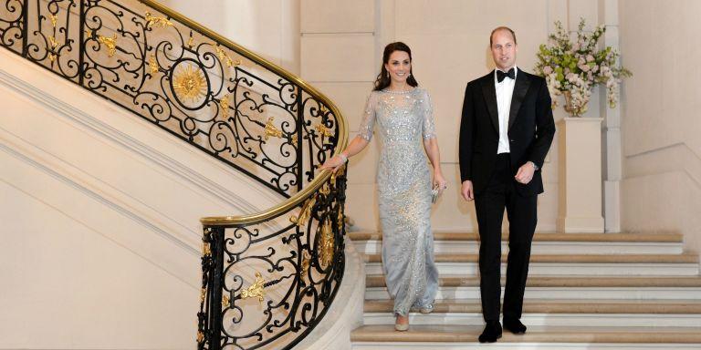 William and Kate royal visit to Paris