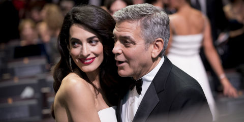 Amal Clooney Has Already Rejected 2 of Georges Baby Names