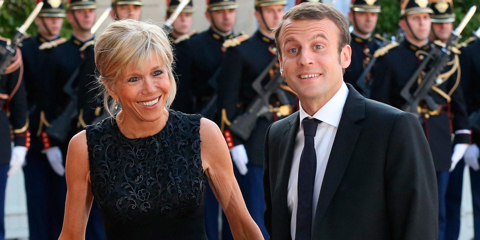 Emmanuel Macron on his wife's age – Emmanuel Macron ...
